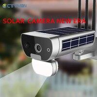 CTVMAN Solar Powered CCTV Camera Wireless Solar WIFI Camera Solaire 1080P Outdoor Home Surveillance Motion Sensor Night Vision