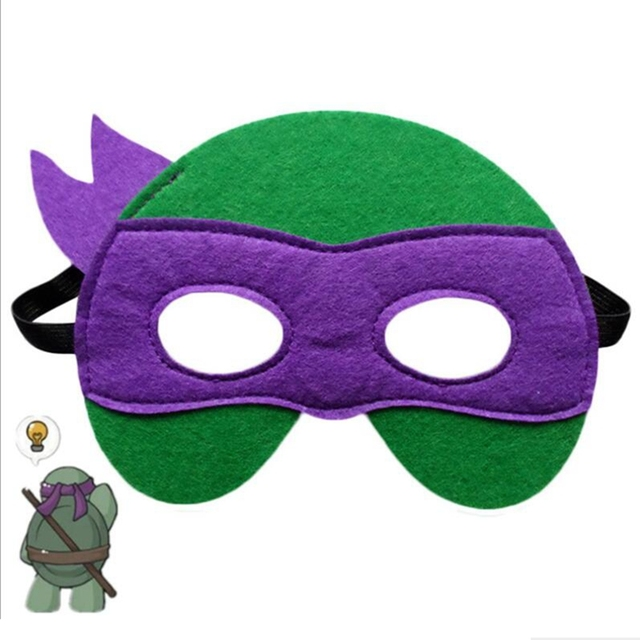 GNHYLL Ninja Turtles Mask Captain America Teenage Mutant Ninja Turtles The Avengers Kid Birthday Gift Cosplay Party Masks 1
