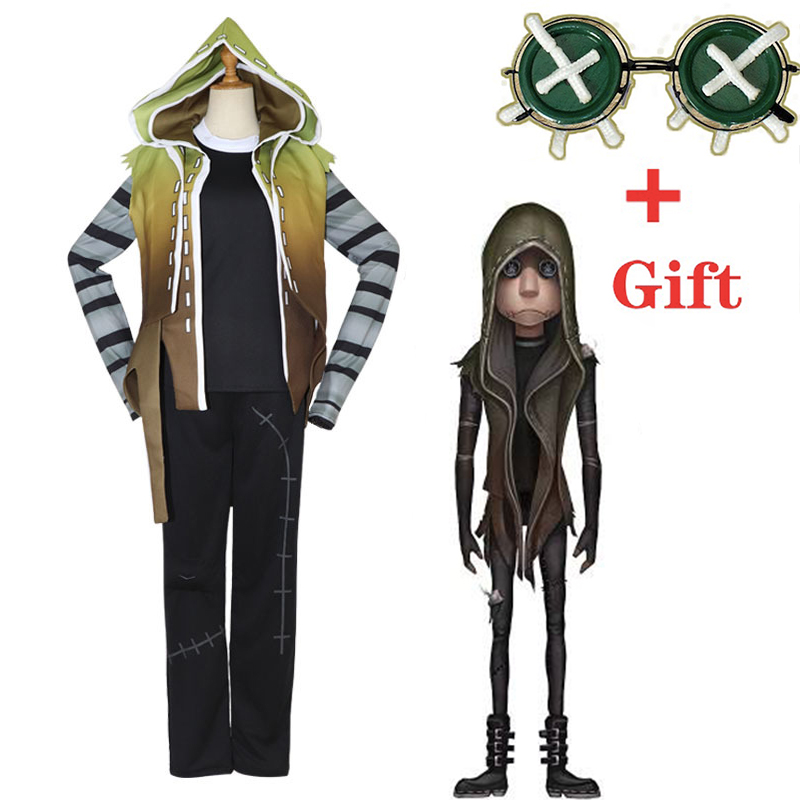 Game Identity V Cosplay Costumes Original Mercenary Naib Subedar Cosplay Costume Hoodie Halloween Party Anime Cosplay Costume