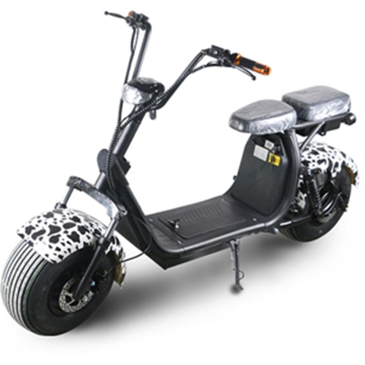 Sc11 + 1500 w 60 v 20ah/40ah batterie amovible citycoco hors route scooter électrique navire de hollande