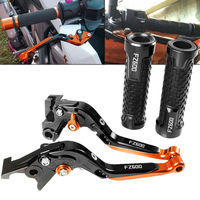 Motorcycle Accessories CNC Aluminum Adjustable Brake Clutch Levers Handlebar Handle Grips For YAMAHA FZ600 FZ 600 1986 1988 1987