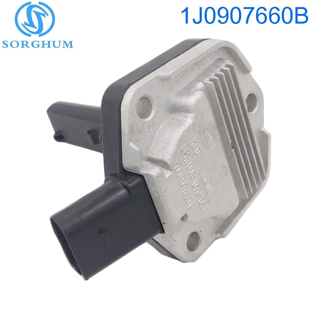 US $7 65 29% OFF|1J0907660B Oil Level Sensor For VW Passat B5 Jetta Bora  Golf MK4 Oil pressure sensor Fits AUDI A4 A6 SKODA SEAT 1J0 907 660 B-in