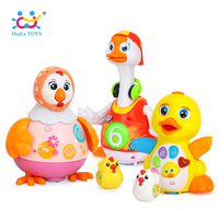 Baby Toys EQ Flapping Yellow Duck & Electric Hip Pop Dance Read & Tell Story & Interactive Swing Goose Toys for 18M+
