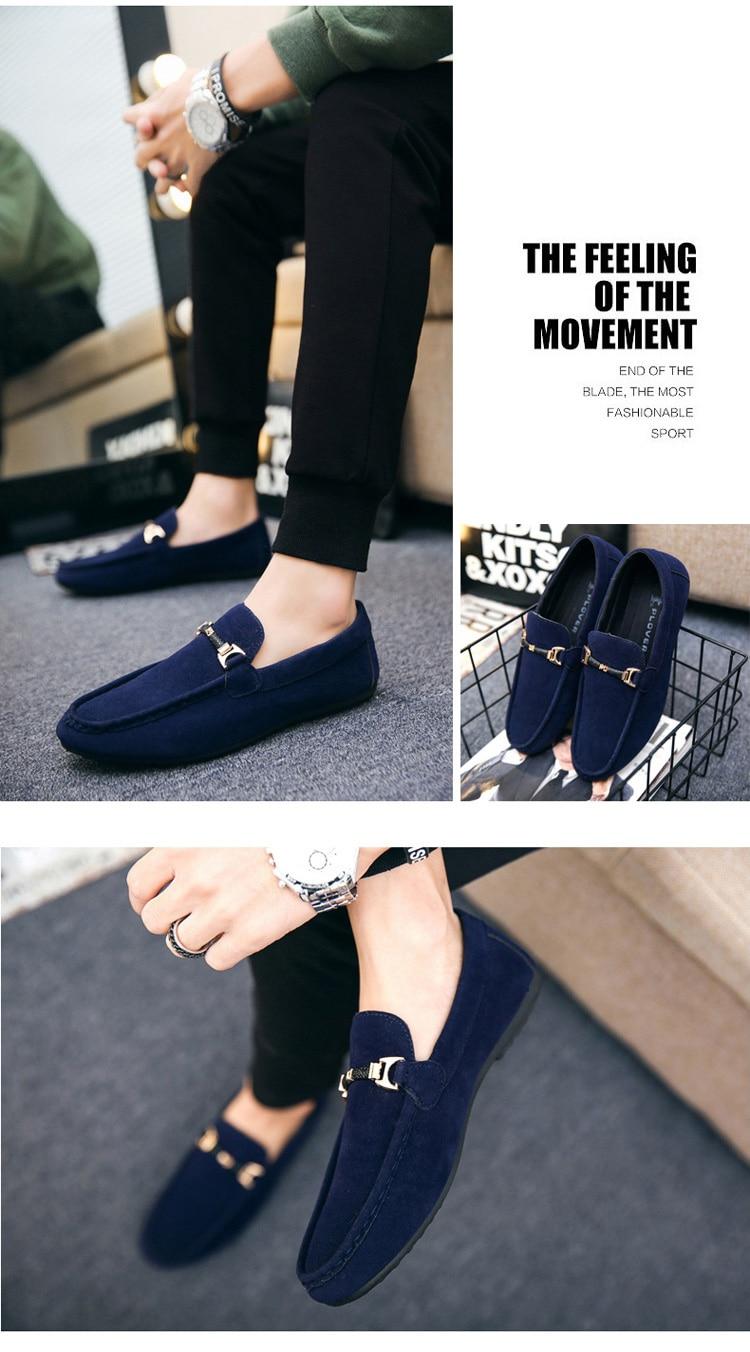 HTB1zEY.adfvK1RjSspoq6zfNpXaa Summer Men Loafers Shoes Fashion Peas Driving Shoes Men Sneakers Flat Man Walking Footwear Big Size 38-46 Men's Casual Shoes