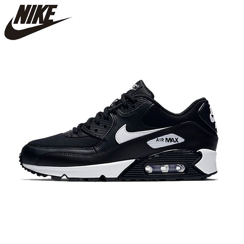NIKE AIR MAX 90 New Arrival Womens Running Shoes Mesh Breathable Height Increasing Support Sports Sneakers For Women Shoes