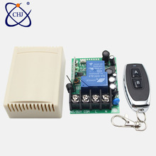 цена на 433Mhz Universal Wireless Remote Control Switch AC 220v 110V 120V 2CH Relay Receiver Module and 1pcs RF 433 Mhz Remote Controls