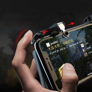 Image 3 - PUBG جهاز التحكم في عصا التحكم بنك طاقة عالي السعة مروحة pubg المحمول الهاتف غمبد الزناد النار زر ل iphone الروبوت أذرع التحكم في ألعاب الفيديو