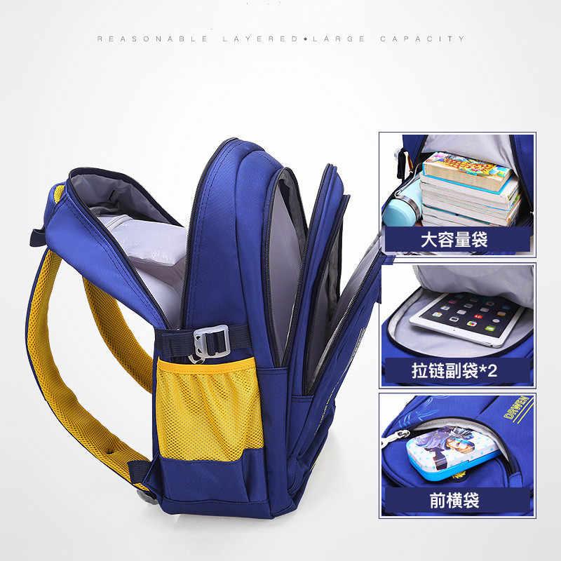 Новые детские школьные сумки рюкзак дети ортопедический рюкзак детские школьные сумки для мальчиков и девочек начальной школы сумка для детей