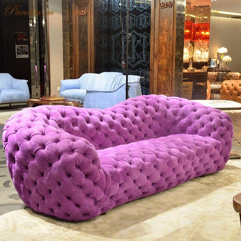Beanbag Top Fashion Sectional Sofa Chaise Sofas For Living Room 2017 ...