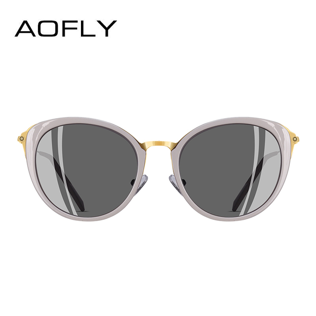 AOFLY BRAND DESIGN Polarized Sunglasses Women 2018 Fashion Ladies Cat Eye Sun Glasses Eyewear Gafas De Sol A131 2