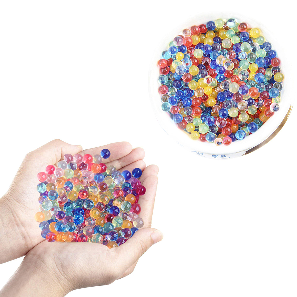 500g Different Colors Magic Water Beads Water Growing Balls Vase Filler for Wedding Party Decoration or Novelty Gag Toys