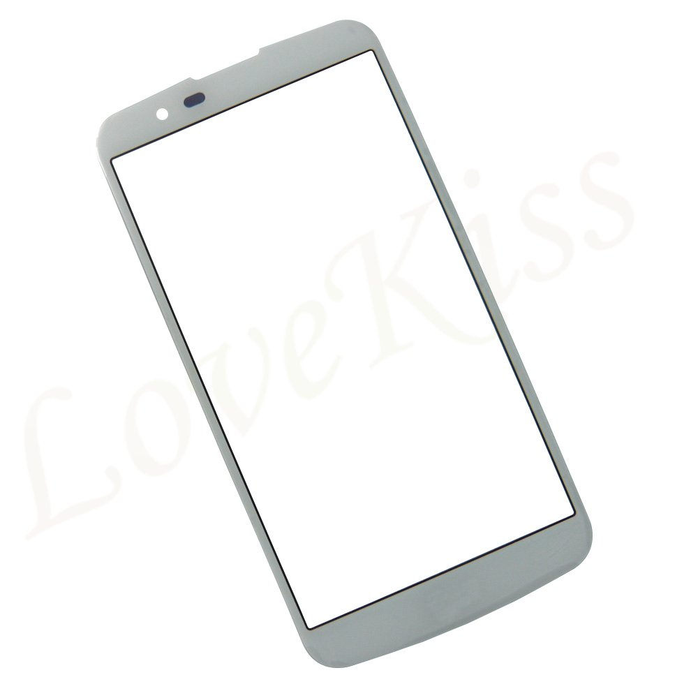 Front Panel Glass For LG K10 LTE K420N K430 K430DS F670 K10 2017 X400 M250N  Touch Screen Digitizer LCD Display Outer Glass Cover
