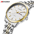 relogio masculino Mens Watches Top Brand Luxury Stainless Steel Business Watch Men Sport Watch Quartz WristWatch Waterproof 5006