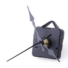 PHFU Clock Movement Mechanism with Black Hour Minute Second Hand DIY Tools Kit