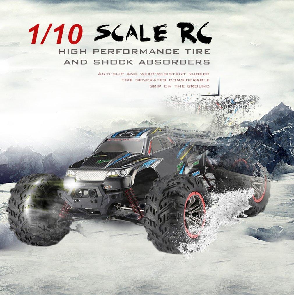 9125 4WD 1/10 RC автомобиль Высокая скорость 46 км/ч Электрический Supersonic грузовик Внедорожник Багги RC гоночный автомобиль электронная игрушка RTR