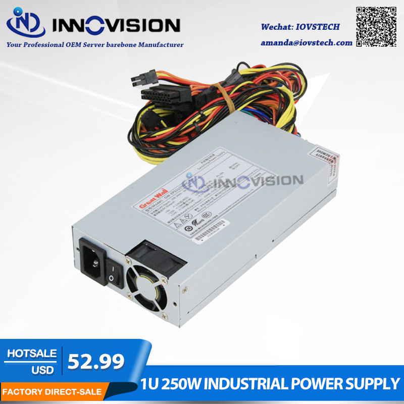 1U 250W industrial Power Supply PSU Server PSU
