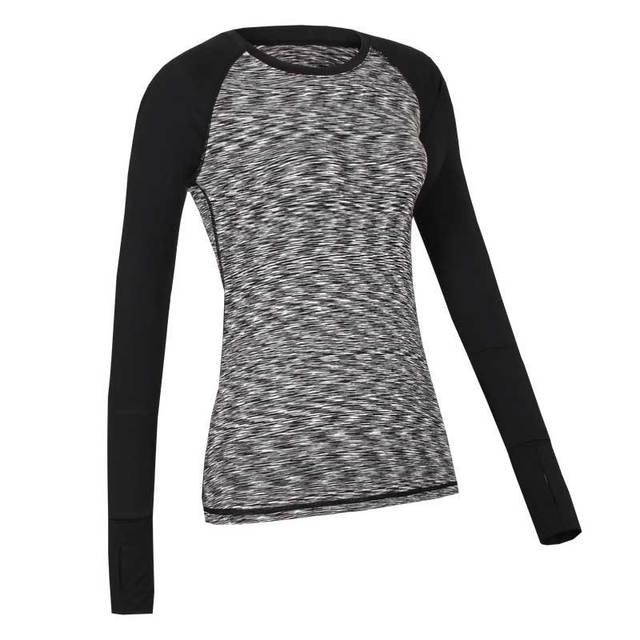 5d065c99234 US $11.19 50% OFF|Women Yoga Long Tees Gym T Shirts Fitness Clothing Sport  Sweatshirts For Female Hoody T shirt Hoodies Running Jacket Tops WA36-in ...