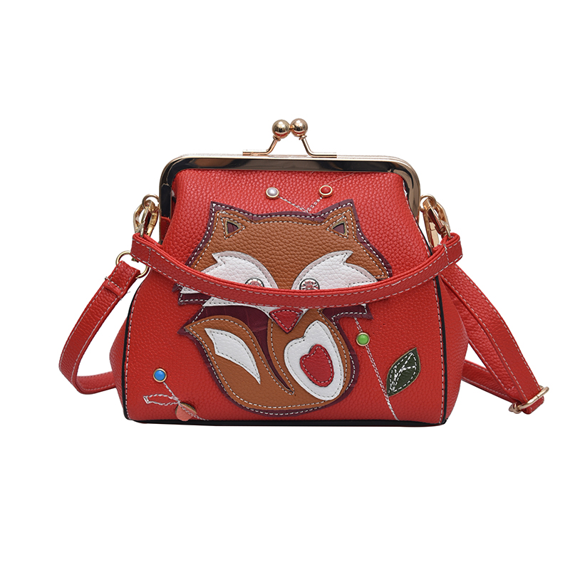 Kinder- & Babytaschen Nette Baby Mädchen Niedlichen Cartoon Fuchs Handtasche Crossbody Kupplung Schulter Tasche Messenger Taschen 100% Original