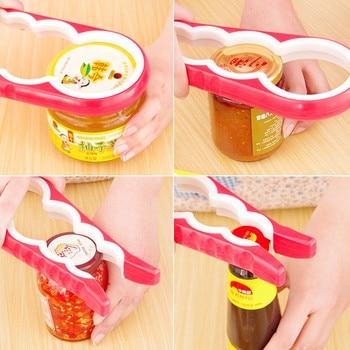 4 in 1 multi-function Jars/Bottles Can Opener Kitchen Tool