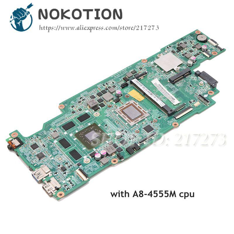 NOKOTION NBM4711002 NB.M4711.002 DA0ZRPMB6C0 For Acer ASPIRE V5-551 V5-551G laptop motherboard A8-4555M CPU HD7650M gpuNOKOTION NBM4711002 NB.M4711.002 DA0ZRPMB6C0 For Acer ASPIRE V5-551 V5-551G laptop motherboard A8-4555M CPU HD7650M gpu