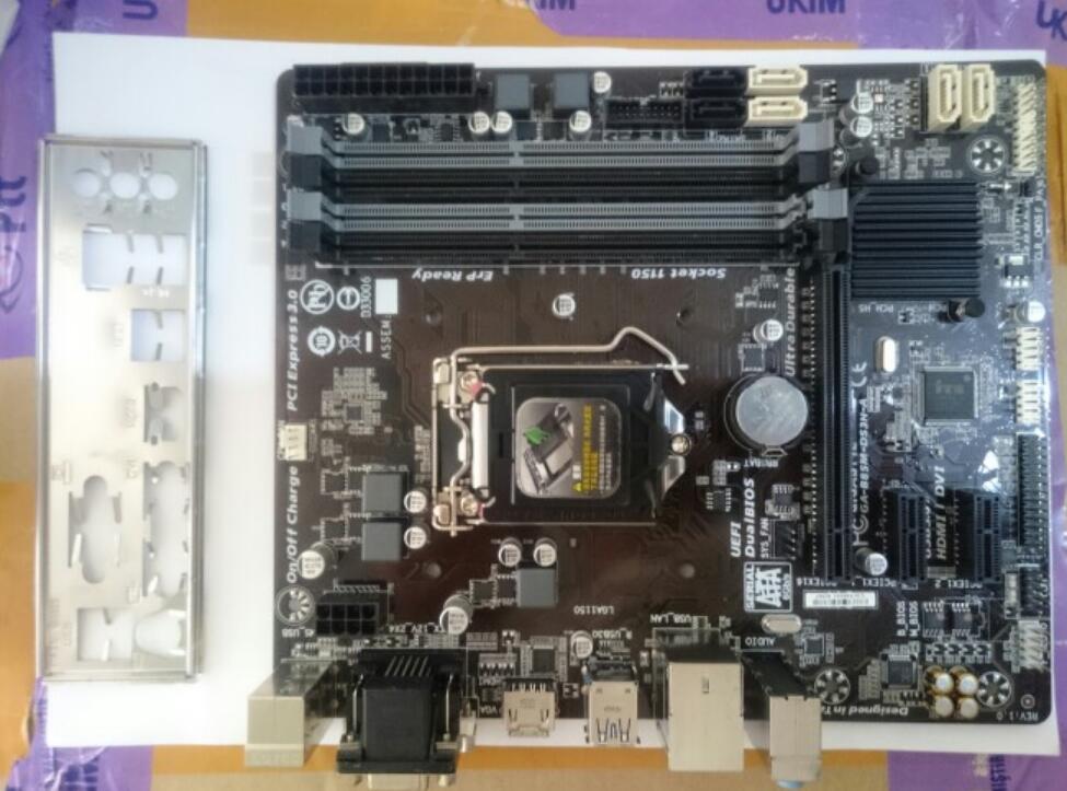Carte mère d'origine pour Gigabyte GA-B85M-DS3H-A LGA 1150 DDR3B85M-DS3H-A 32 GB USB3.0 B85 carte mère de bureau livraison gratuite