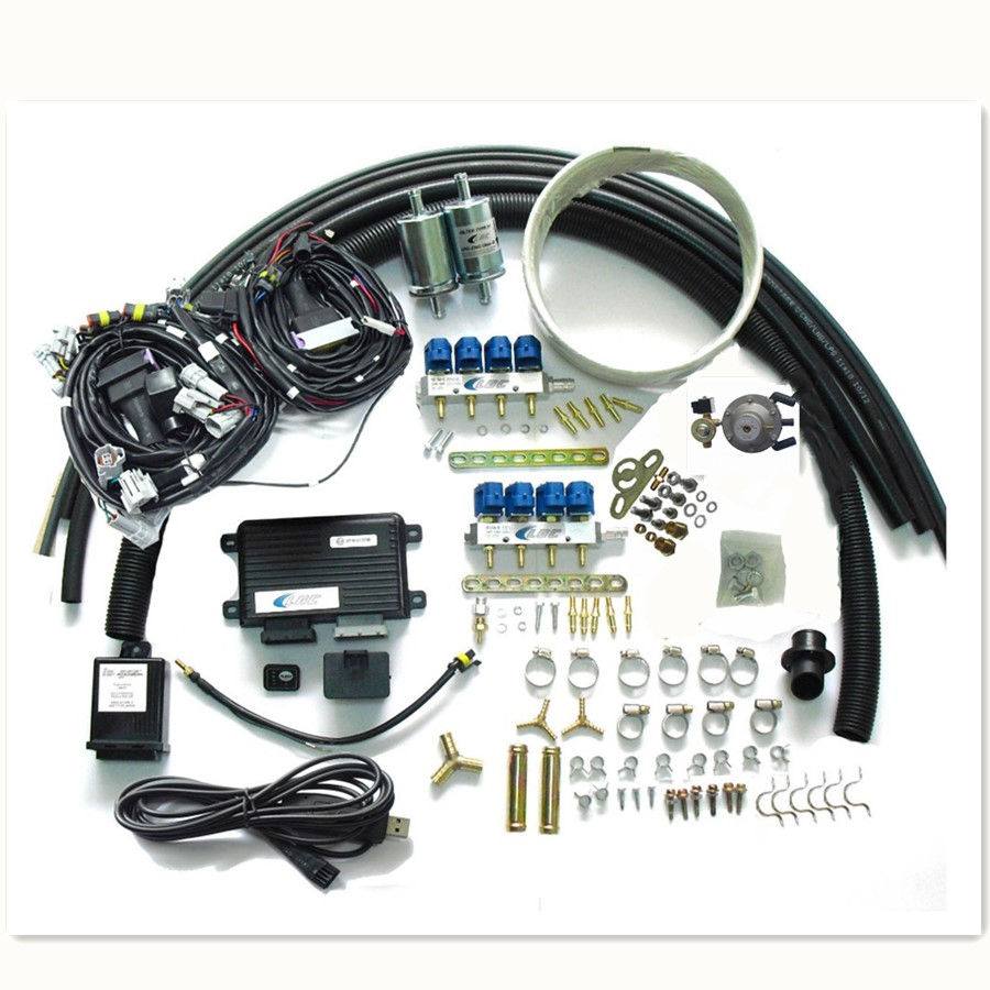 8 Cylinder Propane Lpg Conversion Kit For Gasoline Fuel Injected Vehicles