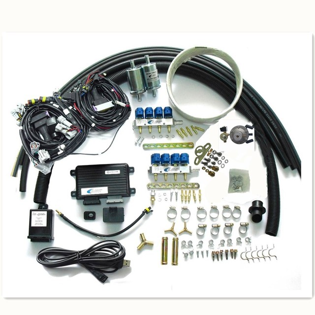 8 cylinder propane lpg conversion kit for gasoline fuel injected  vehicles-in fuel inject  controls & parts from automobiles & motorcycles on  aliexpress com