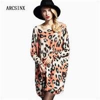 ARCSINX Oversize Women Sweaters And Pullover Plus Size 8XL 7XL 6XL 5XL 4XL XXXL Oversized Bat