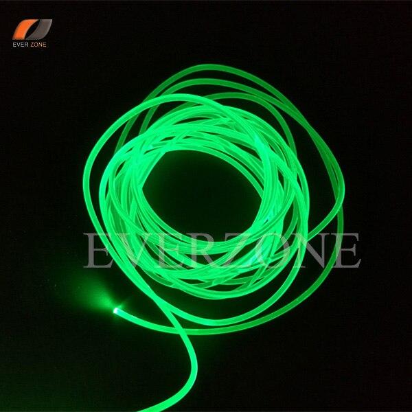 durable waterproof side light fiber optic cable 8 8mm sideglow optic