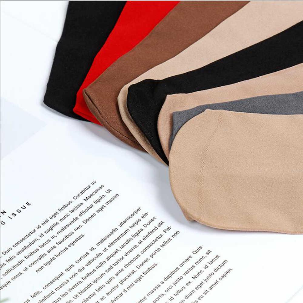 梅レイ雅 5 ペア/バッグ高品質のベルベットの女性靴下温培地チューブルーズ口靴下ナイロン厚いマスク鋼靴下