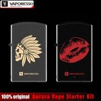 Original Vaporesso Aurora Vape Starter Kit 650mAh Battery All In One Simple Delicate Electronic Cigarette Kit