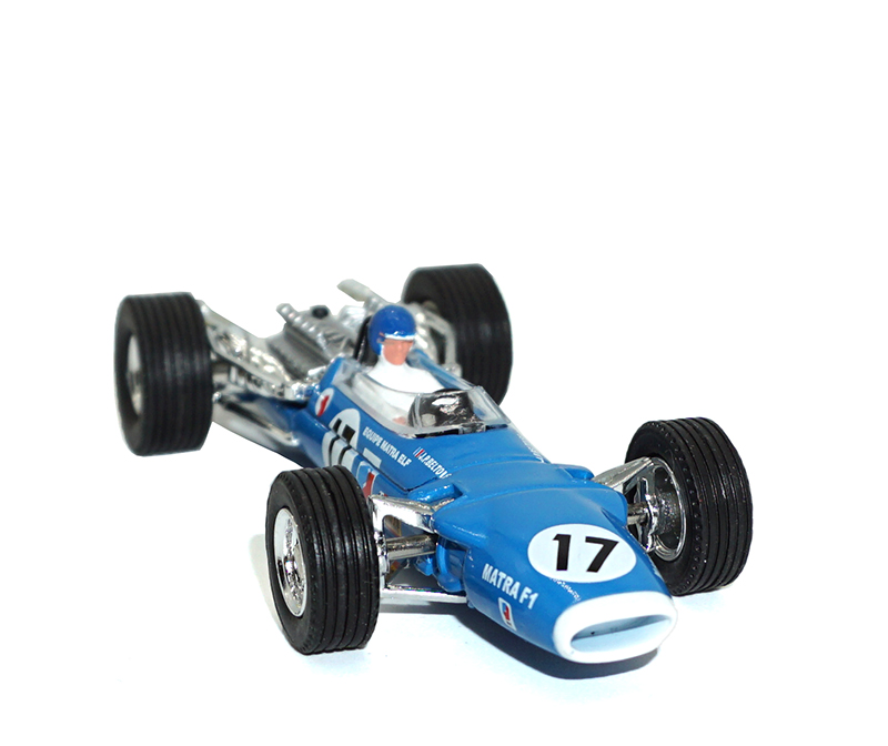 Купить с кэшбэком Dinky Toys Atlas 1417 1/43 MATRA F1 Hot Alloy Diecast Car Model  Collection Toys for Children Adult Wheels
