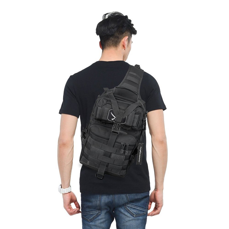 Tactical Assault Pack Military Sling Backpack Waterproof EDC Rucksack Molle Bag For Hiking Hunting Traveling Camping 20L