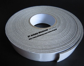3mm Thick, (40mm*5M) Full Range Electric conductiing Foam Gasket for PC Cabinet, House, TV Monitor, LCD Screen Seal, ESD Mask