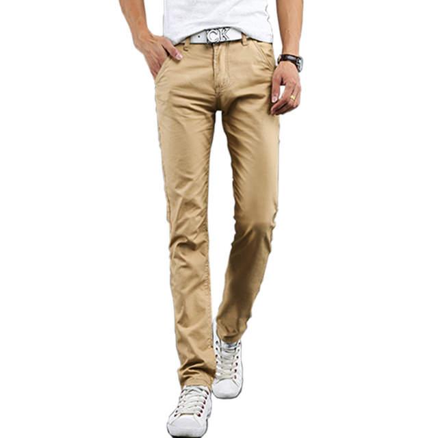 cd95fc0771 Online Shop Autumn Casual Thin Men Cotton Pants Men Pants Straight Leggings Men  Track Pants Harem Pants Male Trousers Men Brand-clothing | Aliexpress Mobile
