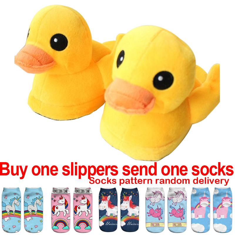 Women's Shoes Flip Flops Beautiful Feiyitu Indoor Warm Yellow Duck Slippers Winter Cotton Plush Slipper Emoji Shoes Smiley Emoticon Soft Cartoon Shoes 19 Style Warm And Windproof