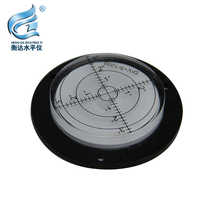 round bubble level Circular Bubble Level Spirit Level Measuring Device Krenometer For Crane Size80*14mm