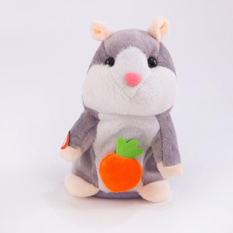 Прекрасный хомяк говорящая мышь плюшевая игрушка для питомца рождественские подарки для детей Высокое качество