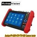DHL libre IPC9800 7 pulgadas IP Cámara probador IP CVBS TVI CVI AHD SDI CCTV probador Monitor con WIFI Onvif control PTZ PoE HDMI out