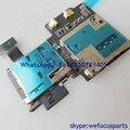 Для Samsung Galaxy S4 i9500 SIM и SD Card Reader SIM/microSDXC Совета Ремонт По Замене Компонентов Бесплатная Доставка