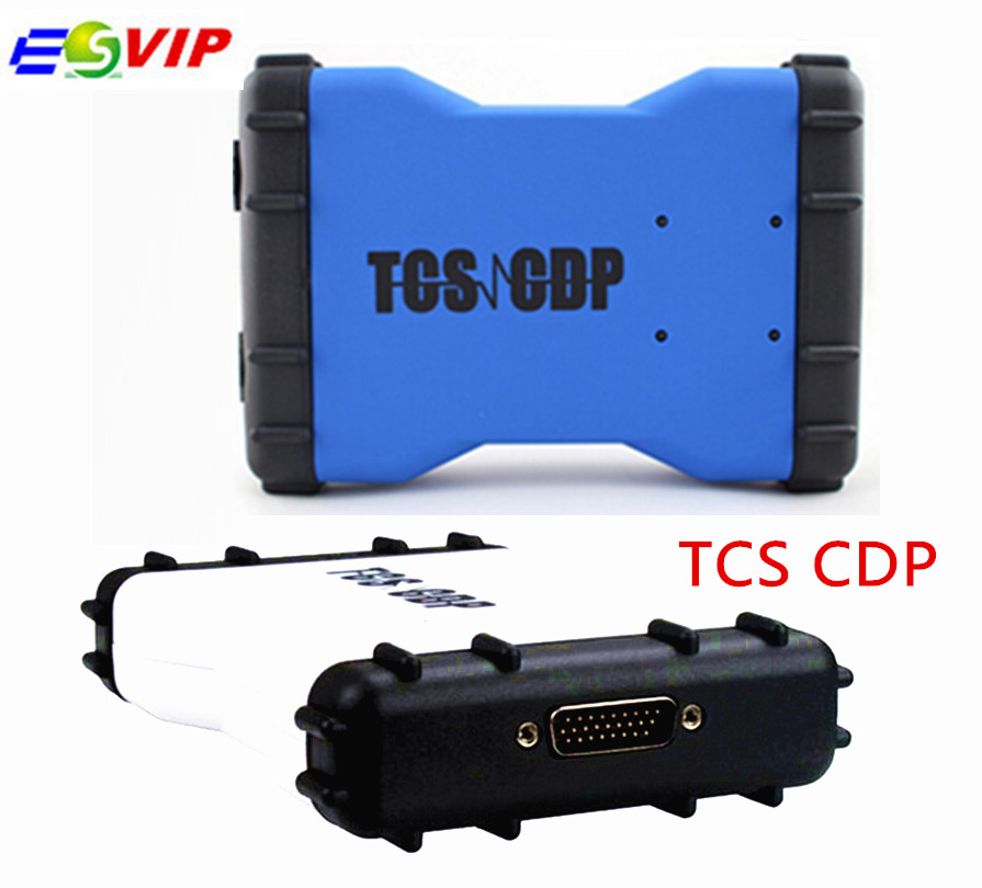 5 pcs/lot DHL free 2016.00 and 2015 R3 TCS CDP PRO For car and truck A+ quality without Bluetooth diagnostic scan tool