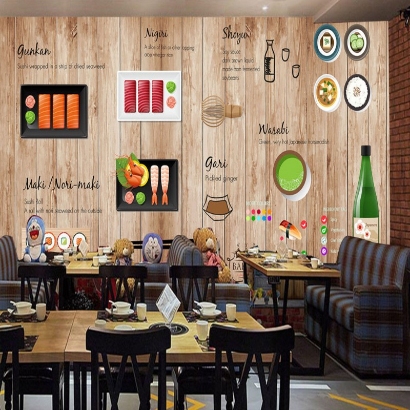 Restaurant Kitchen Background aliexpress : buy free shipping hand painted japanese cuisine