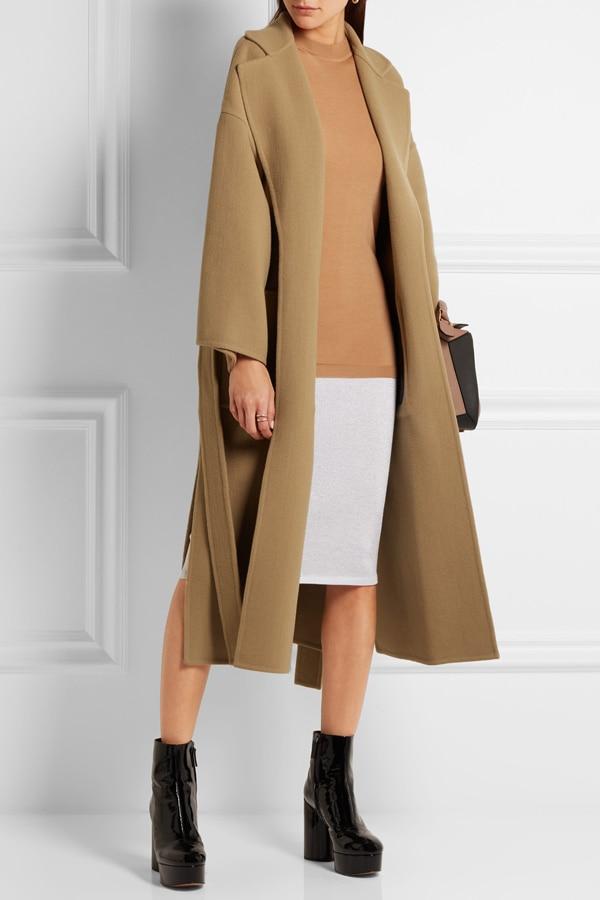 dress - Robe women coats for fall-winter video