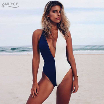 Bandage Jumpsuit Short Jumpsuit Sexy Backless Deep V Neck Swimsuit Skinny Rompers Bodycon Bodysuits