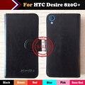 Para htc desire 820g + caso 6 cores de couro flip caso capa protetora de telefone multi-função couro luxo wallet projeto