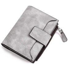 Купить с кэшбэком New Designer PU Leather Women Wallet Zipper Hasp Price Coin Pocket Purse Luxury Brand Cardholders Women Wallets Short Wallet