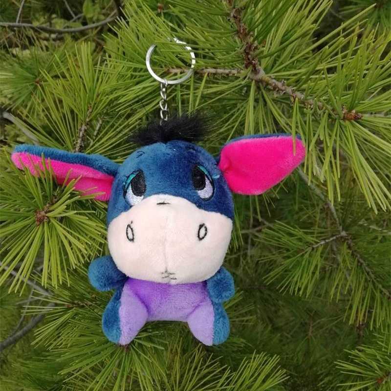 Hot البيع الكرتون غرزة أفخم المفاتيح اللعب الاشياء الحيوانات قلادة صغيرة DIY بها بنفسك الهدايا الإبداعية عيد الحب هدايا عيد