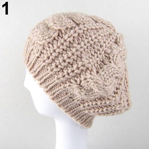 Women Sweet Crochet Warm...