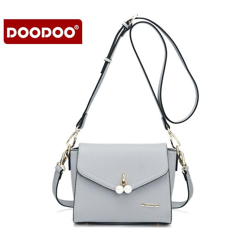 Doodoo Для женщин PU кожа Сумка Клапаном на молнии Синтетическое закрытие волос Малый Размеры Crossbody сумка кошелек для женщин, Бесплатная достав…