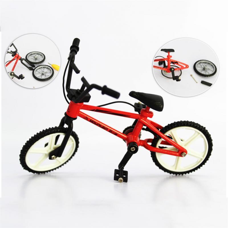 Offen Mini Finger Bmx Spielzeug Mountainbike Bmx Fixie Fahrrad Finger Roller Spielzeug Kreative Spiel Anzug Kinder Erwachsen Zufällige Farbe SchnäPpchenverkauf Zum Jahresende